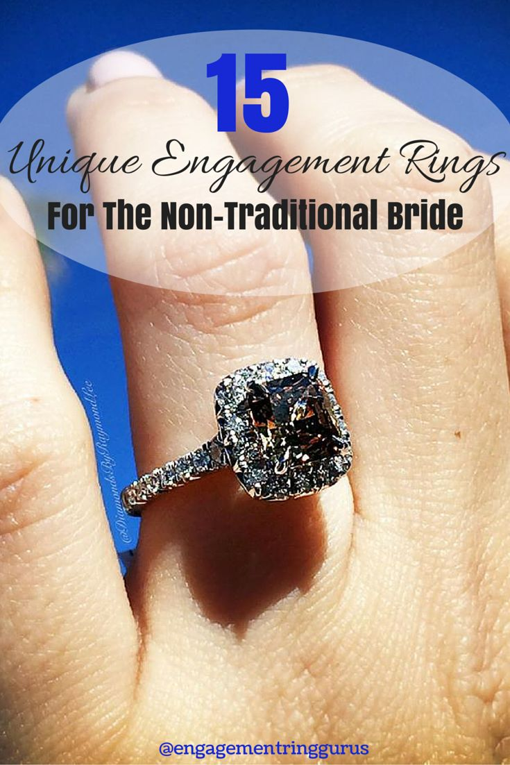 20 best ~Non Traditional Engagement Rings~ images on ...