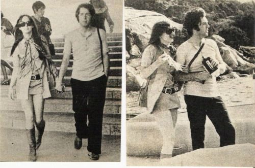 1st September 1968. Newly single Paul travels to Sardinia with an American girlfriend Maggie McGivern.