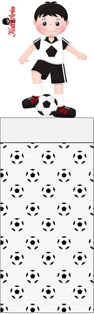 Futbol: Envoltorios Especiales para Golosinas, para Imprimir Gratis.