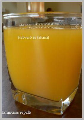 Habverő és fakanál: Narancsos répalé