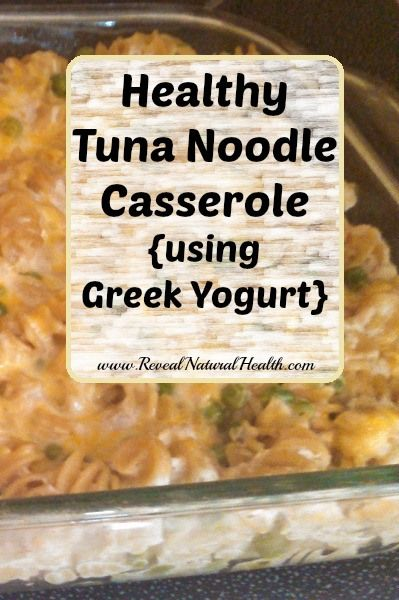 This easy tuna casserole recipe doesn't use mayonnaise or cream-based canned soups, so it's a healthier option for your family.
