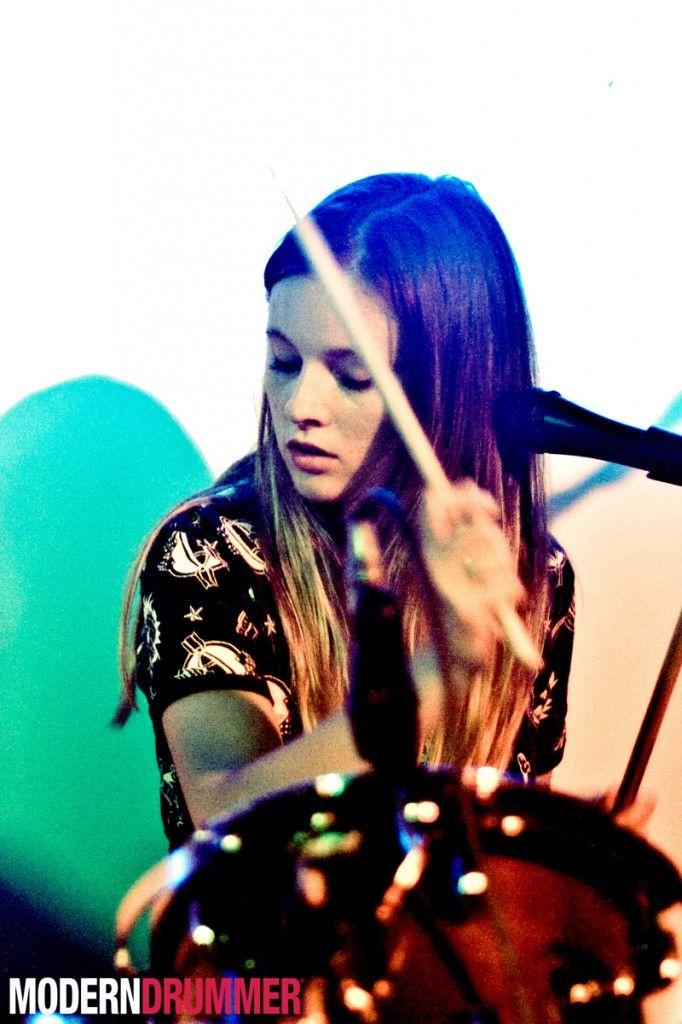 Scarlett of San Cisco featured on Modern Drummer Magazine!