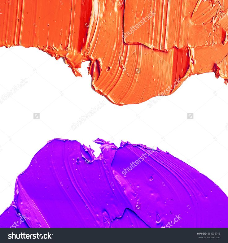 colorful OIL PAINT BACKGROUND ON A WHITE PALETTE