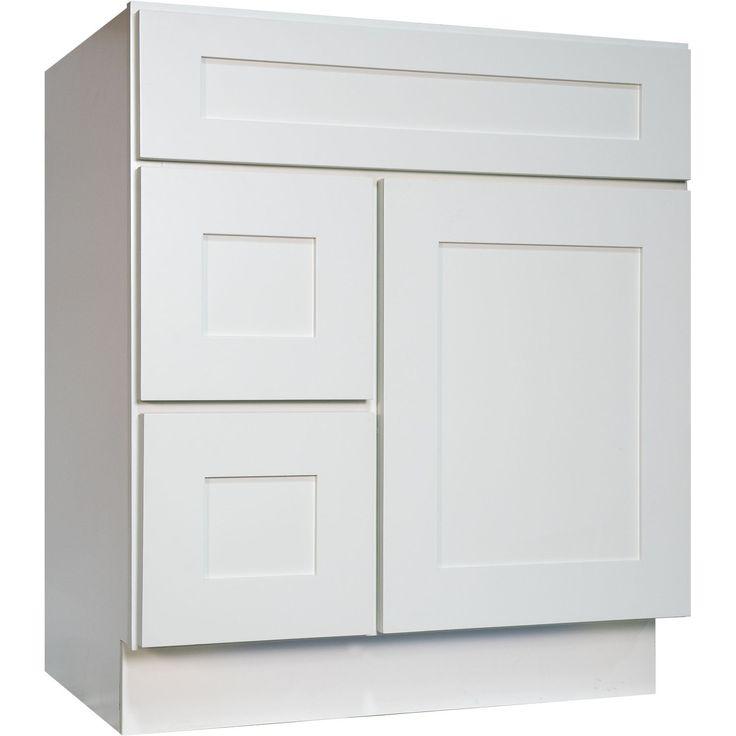 30 inch bathroom vanity on pinterest base cabinets 30 inch vanity