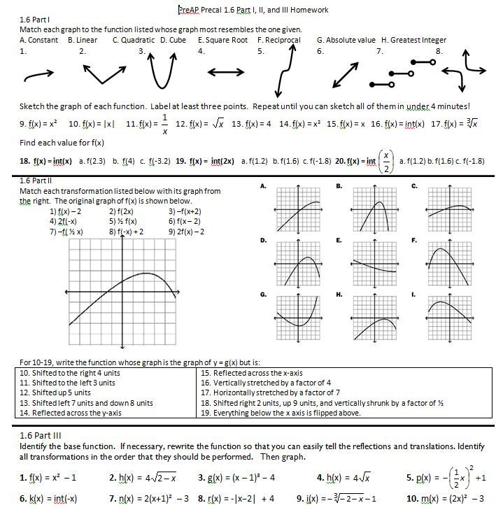 6 6 Function Operations Worksheet Answers Form G Proga Info