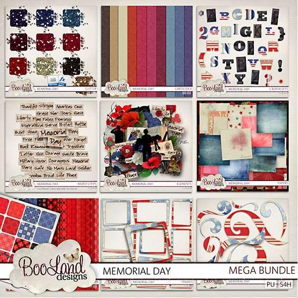 Digital Art :: Bundled Deals :: Memorial Day Mega Bundle