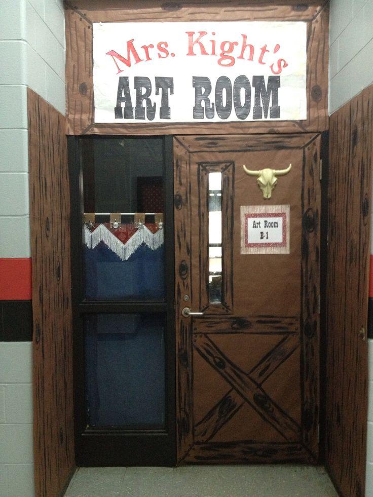 cowboy western theme classroom themed classrooms pinterest