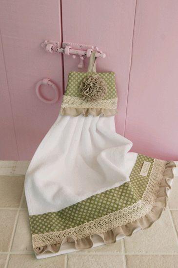 Красиво вешаем кухонные полотенца. Обсуждение на LiveInternet - Российский…