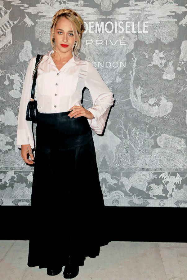 """Jemima Kirke at the opening of Chanel's """"Mademoiselle Privé"""" exhibition"""
