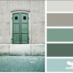 Image result for warm colour scheme timer white grey green