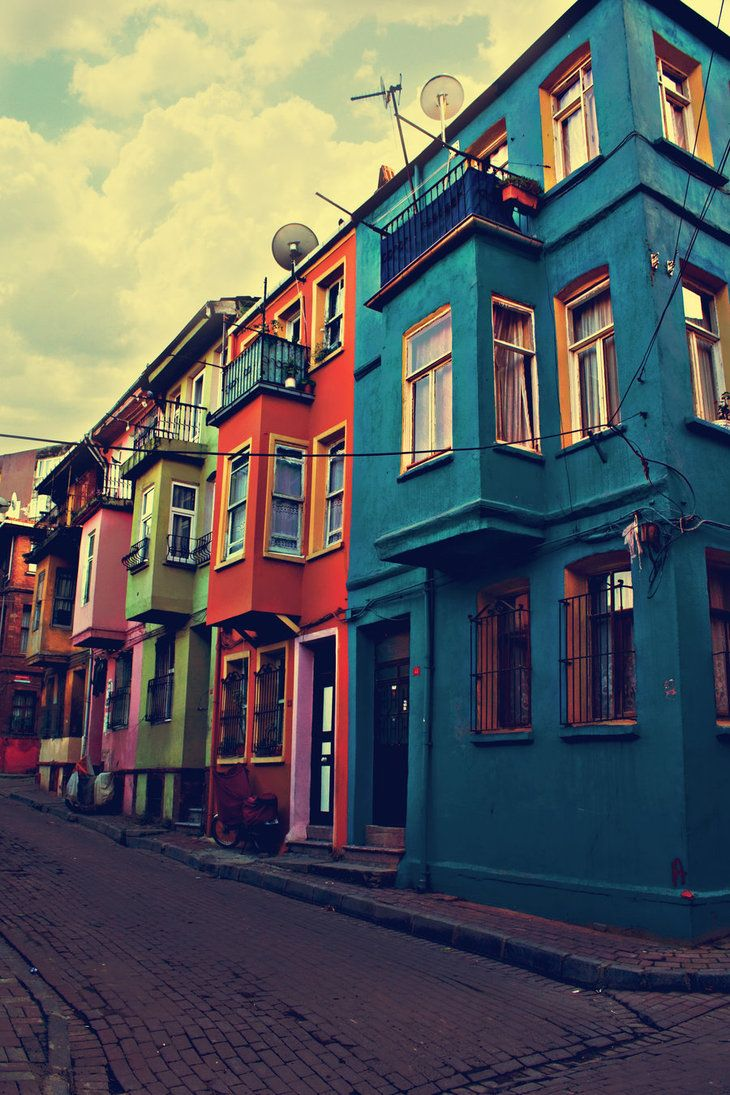 Istanbul Houses, Turkey.