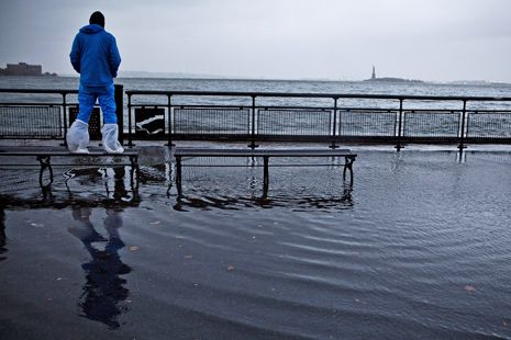Is Climate Change Responsible For Hurricane Sandy