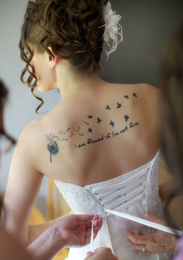 41 Dandelion Tattoos