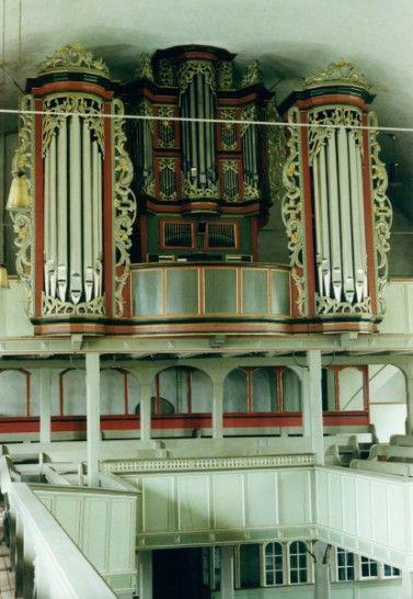 Osterholz-Scharmbeck, St. Willehadi, Bielfeldt-Orgel