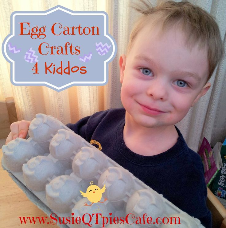 Egg Carton Crafts and other fun recycled crafts for kids from SusieQTpies Cafe