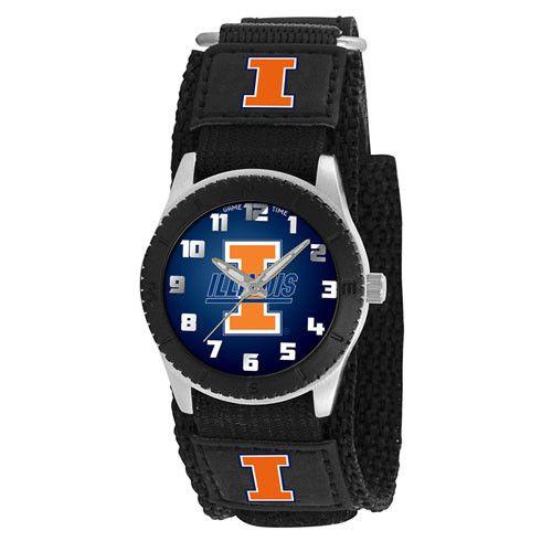 Illinois Fighting Illini NCAA Kids Rookie Series watch (Black)
