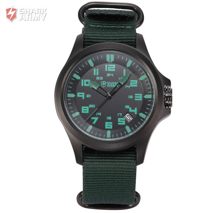 SHARK ARMY Military Watch Army Collection Avenger Series Model SAW085 Quartz Wrist Watches //Price: $40.98 & FREE Shipping //         #SharkArmyWatch
