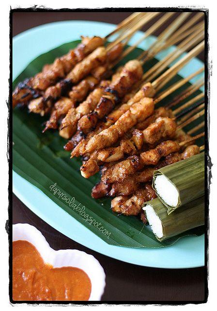 Sate Ayam (Indonesian Chicken Satay)