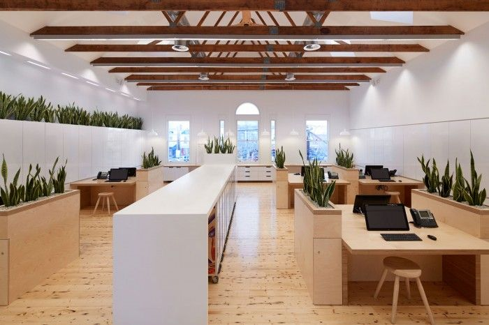 Melbourne Design Studio has created an excellent new office space in Melbourne, Australia for global footwear brand Birkenstock. Based on an initial feasibility study, Birkenstock Australia engaged us to design their new headquarters in a beautiful 2-storey heritage building in Clifton Hill.