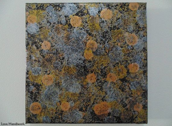 Gold Silver Copper & Bronze Metallic Abstract by LoveHandyWork