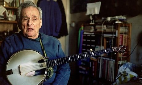 One of the pioneers of the American folk revival of the 1950s who played with Woody Guthrie and Lead Belly