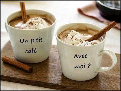 Images pour blogs et Facebook: cafés et gâteaux