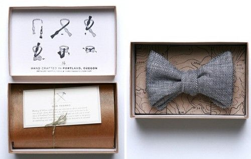 Bow tie packaging