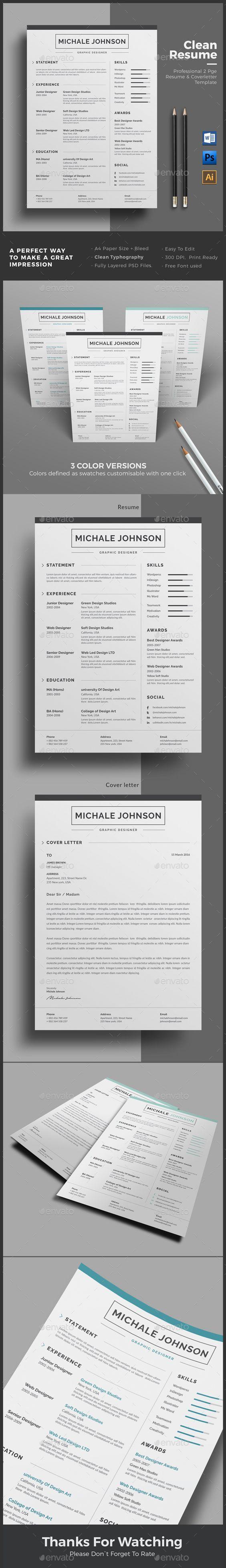 Mejores 24 imágenes de Resume en Pinterest | Currículum, Plantilla ...