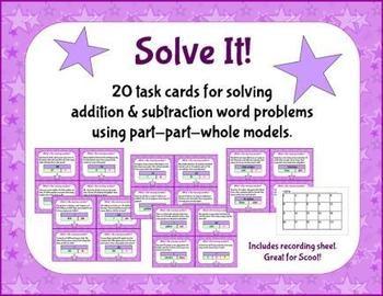 subtraction bar model word problems pdf