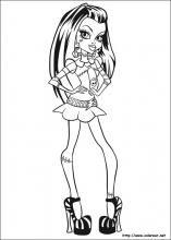 Dibujos de Monster High para colorear en Colorear.net