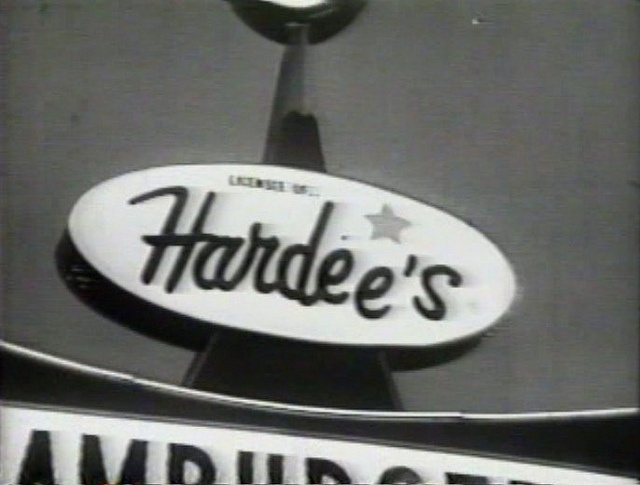 early hardee s restaurant sign 1960s my scrapbook pinterest