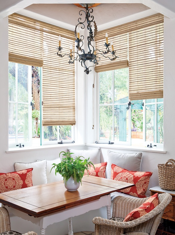 20 best french door ideas images on pinterest curtains for Natural woven flat fold shades