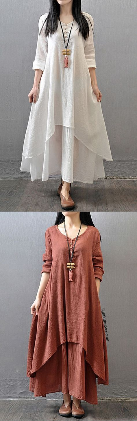 Women's Casual/Daily Simple Chinoiserie Loose Dress