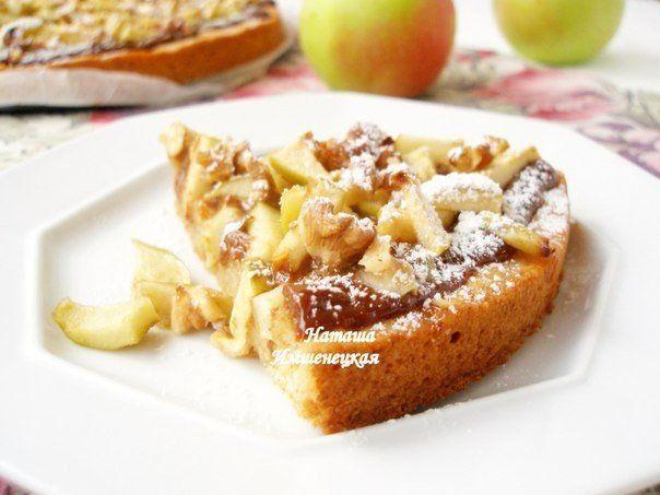 Яблочный тарт Ириска | Школа шеф-повара