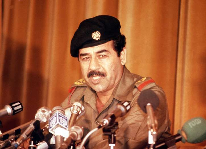 July 16,  1979: SADDAM HUSSEIN BECOMES FIFTH IRAQI PRESIDENT  -   The de facto ruler of Iraq formally takes office after forcing ailing President Ahmed Hassan al-Bakr to resign.