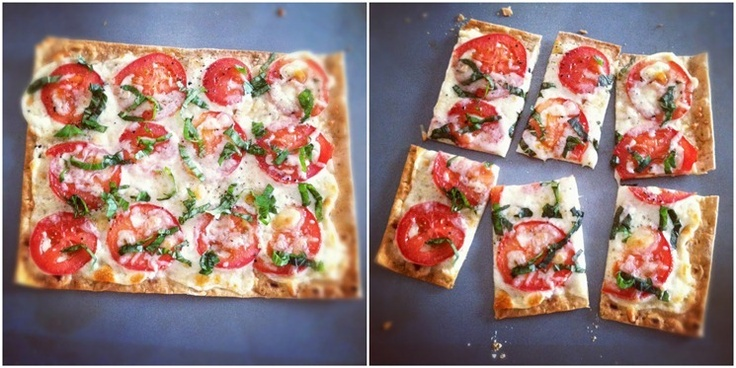Margherita Pizza (optional add on: pesto on crust under toppings)Little Girls, Margherita Pizza, Girls Generation, Sweets Treats, Recipese Food, Pizza Options, Options Add