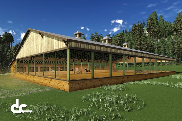 Blueprints For Wood Covered Riding Arena Covered Riding