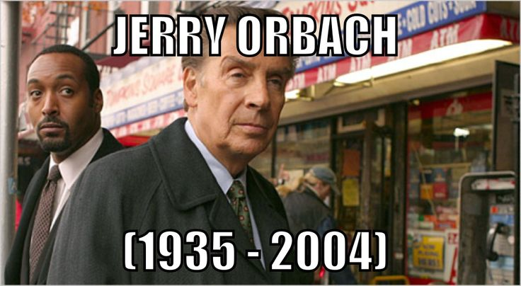 """NEW YORK (AP) - Actor Jerry Orbach, who played a sardonic, seen-it-all cop on TV's """"Law & Order"""" and scored on Broadway as a song-and-dance man, has passed away of prostate cancer at 69, a representative of the show said Wednesday."""