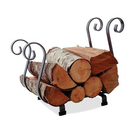 Sleigh Indoor Firewood Rack Learnshopenjoy Fireplace