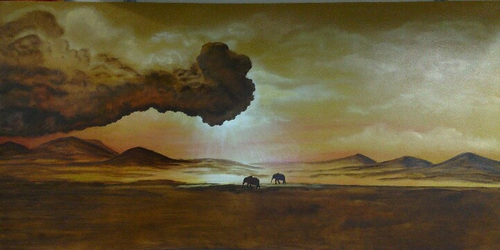 Storm is Coming made by Tirza Atsma-Hoornstra