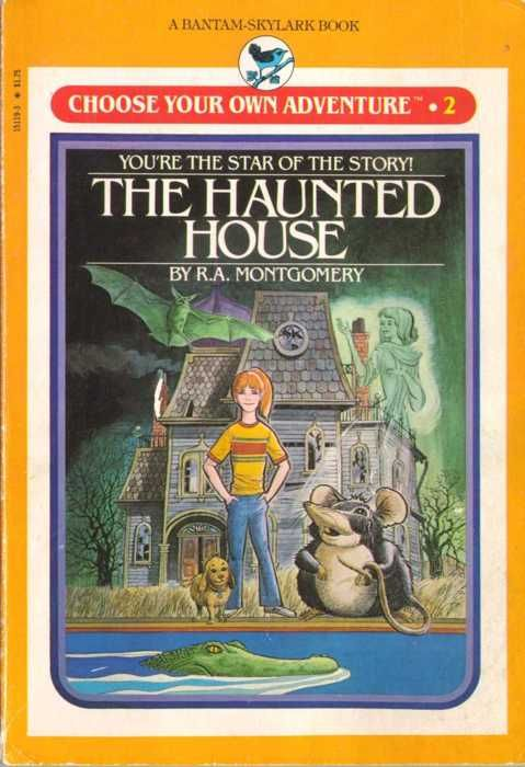 "i LOVED love loved choose your own adventure books as a kid...strangely they aren't nearly as awesome as an ""adult""..."