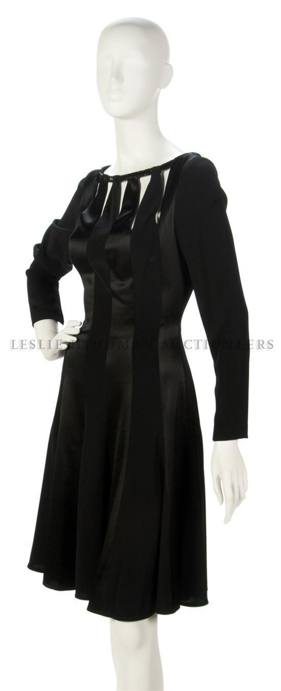* Боб Мэки черное платье, размер 8.