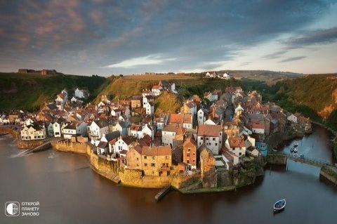 Staytes - seaside village in North Yorkshire, England.