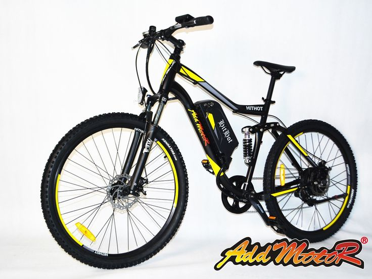 Addmotor HITHOT H1 48V Dual-suspension Electric Mountain Bike