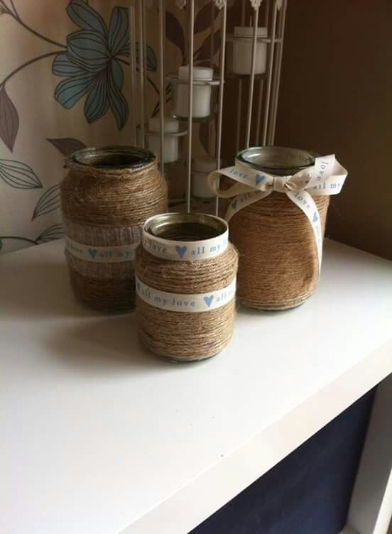 Coffee Jar Craft Ideas