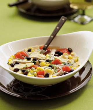 Chicken Tortilla Soup Recipe  from 5 Healthy Chicken Soup Recipes
