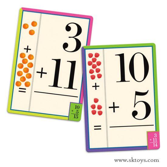 Eeboo Addition Flash Cards | School Ideas | Pinterest