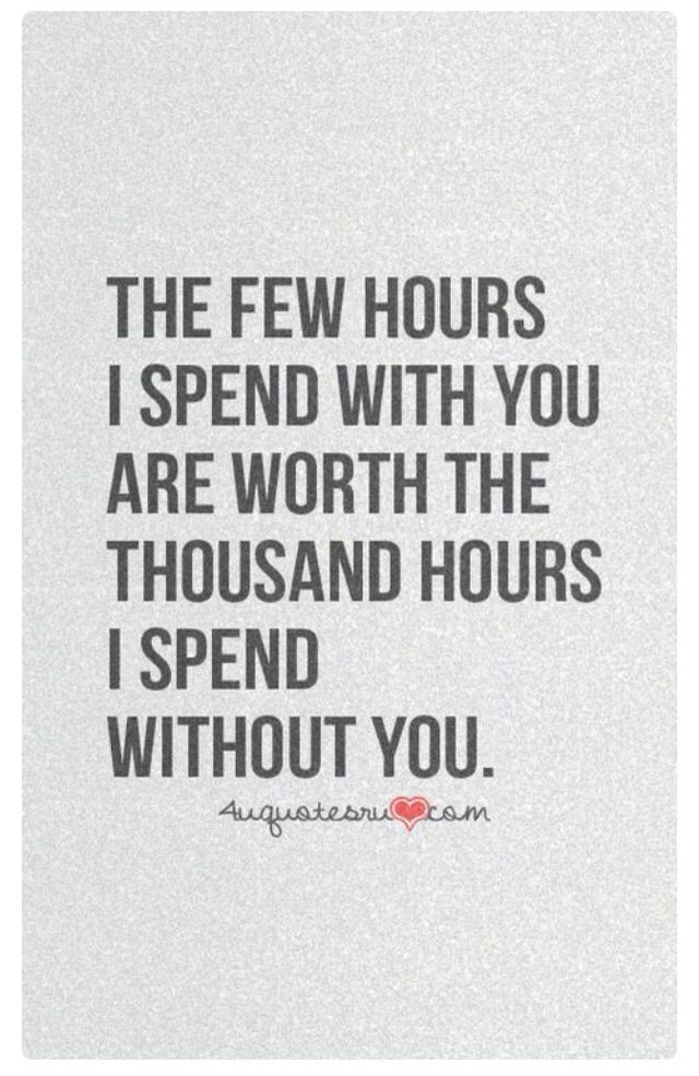 And they are what make the time with you even more special