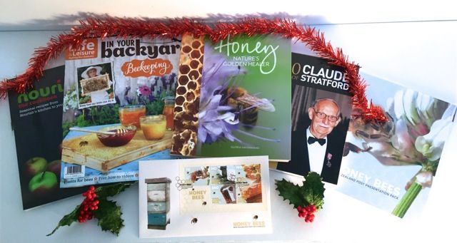 Here is a selection of great books you can give for Christmas! http://www.sweetreehoney.co.nz/shop/Books.html