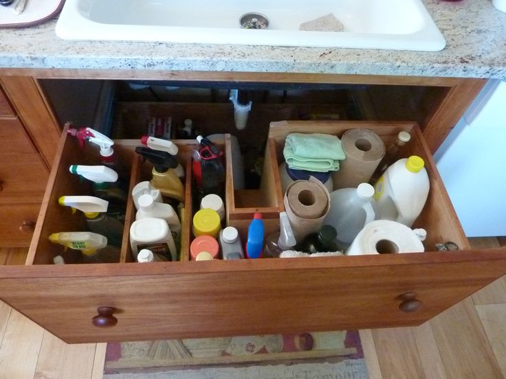 10 Amazing Ideas To Utilize The Space Under The Sink For Storage: Clever Solutions For Under-Kitchen-Sink Storage: Plumbing